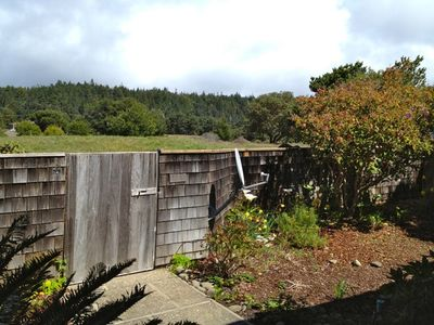 Sea Ranch house rental - Bella Vista, entry yard