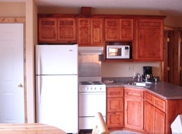 North Dakota apartment rental - Full Kitchen with Microwave and Coffee Maker.