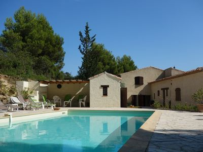 Wonderful house on a one-hectare wooded land with private swimming pool - LA BRULAGNE - Le Castellet