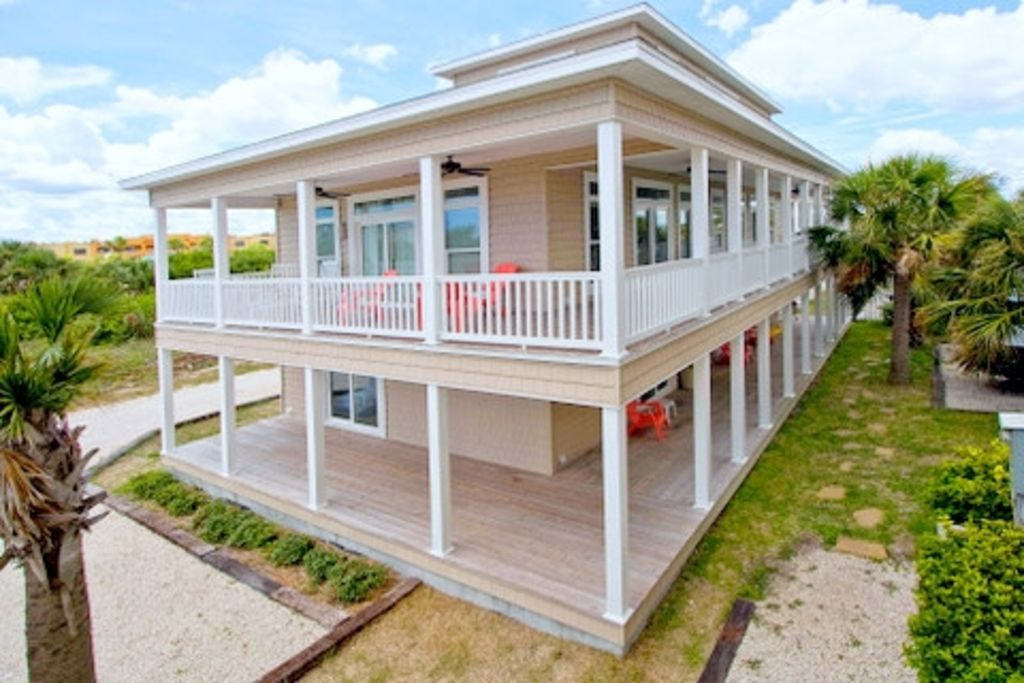 Vilano Beach House Rentals Part - 34: CLASSIC FLORIDA COTTAGE FALL SPECIAL 4TH NIGHT $150,SOME EXCLUSIONS APPLY