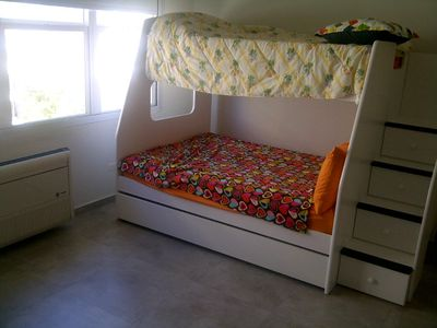 Second Bedroom with Bunk Bed that fits up to 4 people
