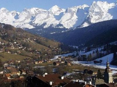 apartment/ flat with splendid sight on Aravis mountains