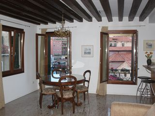 Dorsoduro apartment photo - the total view made by a guest - Mr. Gerry Stanford