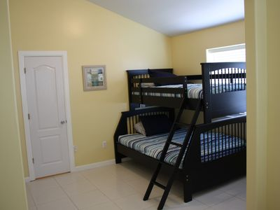 South Padre Island house rental - Bunk Beds and Queen Bedroom