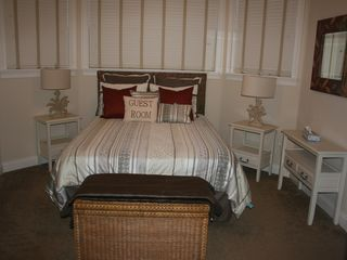 Flagler Beach house photo - New queen size suite with private bath.