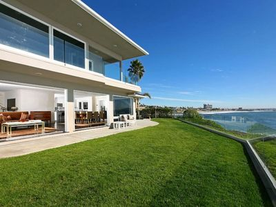 La Jolla house rental - Breathtaking 150 foot of ocean frontage, 270+Degrees, enjoy watching dolphins!