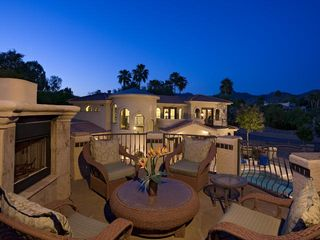 Scottsdale estate photo - Top of guest house lounge area