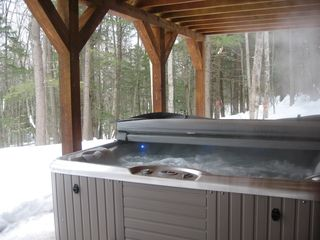 Newry house photo - Ahhhhhh....Hot Tub!