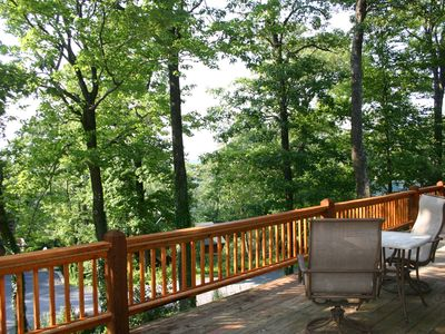 View from deck looking Northeast.