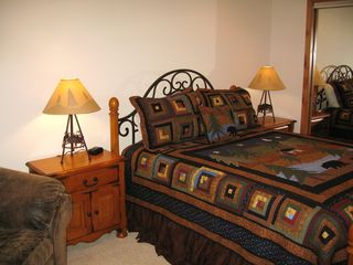 Blue River house photo - Queen beds in each guest room