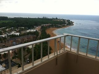 Luquillo condo photo - balcony corner view