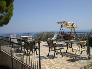 Gerace villa photo - Lower terrace