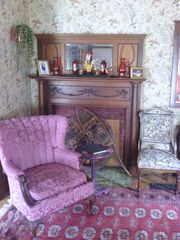 Ellsworth house photo - Fireplace in Parlor #2