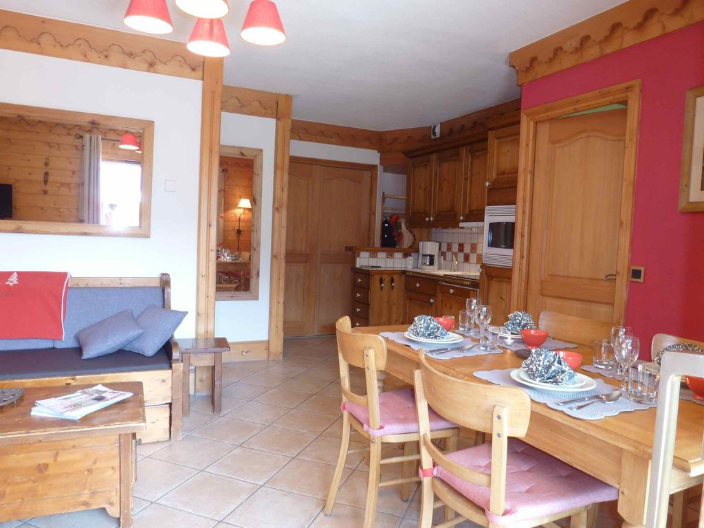 Holiday apartment, 42 square meters , Méribel, France