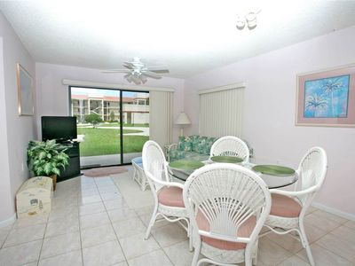 It's an easy walk to the pool from our Ocean Village condo! - Our ground floor condo means it's an easy walk to one of our pools or Clubhouse! Enjoy relaxing in our beautifully furnished living room with plenty of natural light and sunshine!