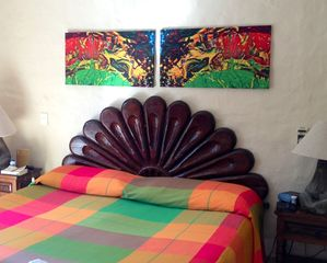Puerto Vallarta condo photo - Bright bold colors.