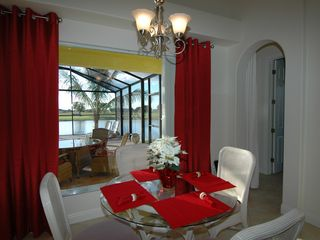 Cape Coral villa photo - Wonderfull view from the nook dinning area