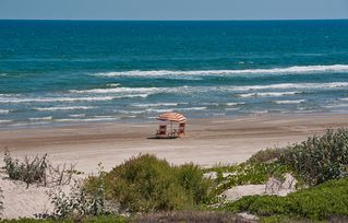 Port Aransas condo photo - View of Beachfront at Cinnamon Shore