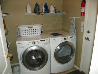 San Tan Valley house photo - Laundry Room High effieciency front load washer and dryer
