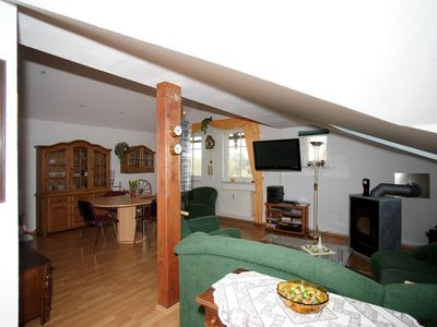 Villa apartment, big garden with access to the Finow canal