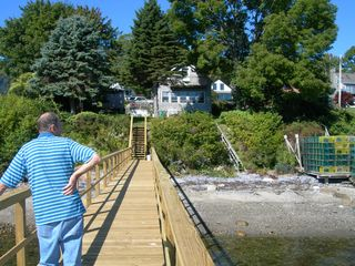 Harpswell cottage photo - 100 foot wharf