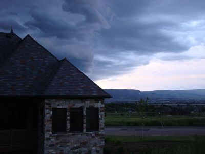 Midway Utah Vacation Home Great picture outside of the home looking East