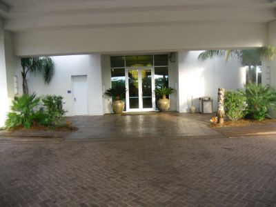 Entrance to the Palms