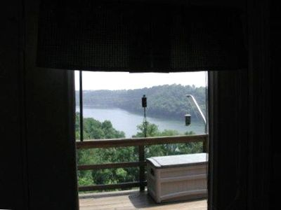 View of Lake from Master Bedroom