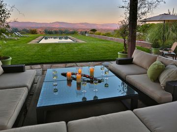 Los Olivos house rental - Views from the Outdoor Living Room