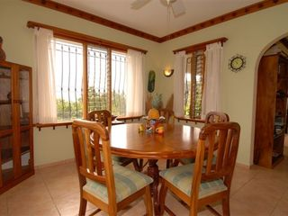 Nuevo Arenal house photo - Our dining room has a great view!