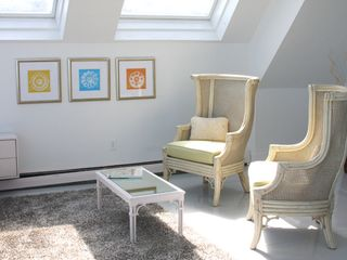Provincetown condo photo - Master bedroom sitting area.