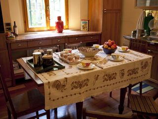 Bologna apartment photo - The table is set - enjoy your Italian dinner at Il Ginkgo!
