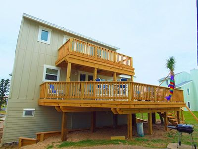 Three bedroom two bath beachfront home in a private gated community.