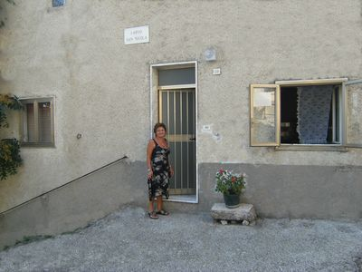 Typical house Molisana stone consists of two independent apartments