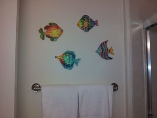 Waikoloa Beach Resort condo photo - Some of the guest bathroom decorations