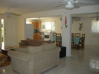Aruba villa photo - kitchen living room dining room is all open! Perfect for families!