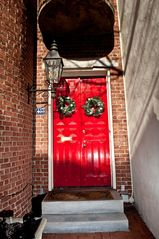 Philadelphia house photo - Double door salvaged from monastery.
