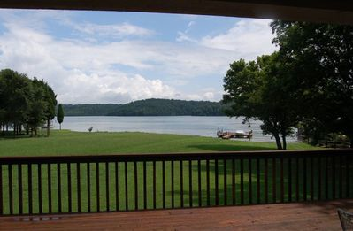 Back Yard, Dock, Tellico Lake