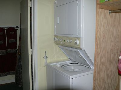 Extra large capacity washer/dryer