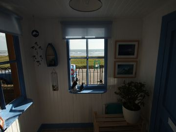 Our 'beach hut' Porch!