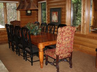 Sundance cabin photo - Dining Room. Seating for 10. 2 at the bar.