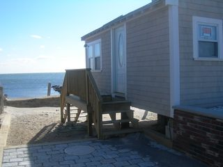 Yarmouth house photo - Add our studio oceanfront 1/2 mile walk w/private beach/deck list#105984