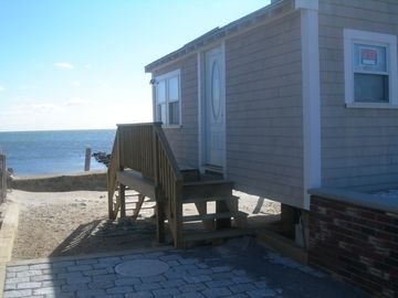 Add our studio oceanfront 1/2 mile walk w/private beach/deck list#105984