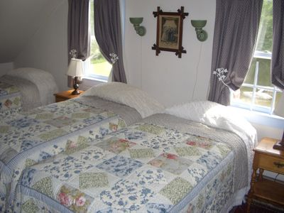 Upstairs Bedroom, pond side (3 of 4 beds)