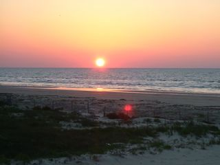Surfside Beach house photo - Sunrise over the Gulf of Mexico