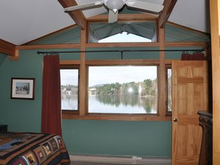 Lake Placid house photo - View from Bedroom 1