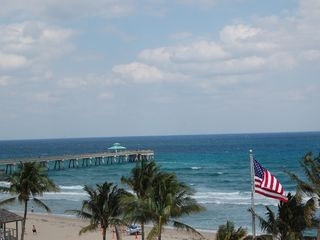 Deerfield Beach condo photo - View of the Pier from the North Terrace