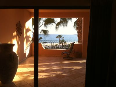 San Jose del Cabo condo rental - Another terrace view