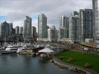 The Seawall in Yaletown