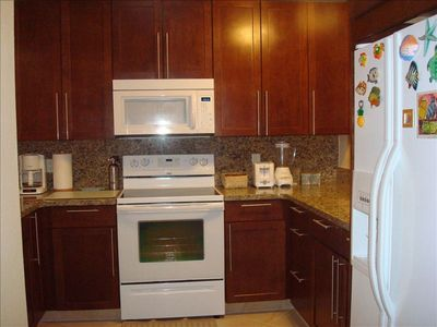 New kitchen with refrigerator & icemaker